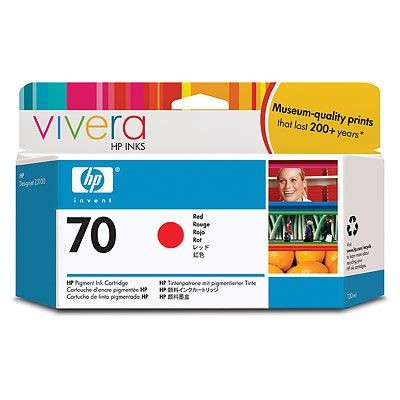 Картридж HP Pigment Ink Cartridge №70 Red (Z3100) (C9456A) hp c9456a red