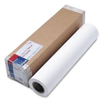 Epson Somerset Velvet Fine Art Paper 24, 610мм х 15м (255 г/м2) (C13S041702) epson fine art paper cold press bright 24 610мм х 15м 305 г м2 c13s042314