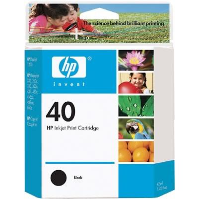 Картридж HP Inkjet Cartridge Black (51640A)