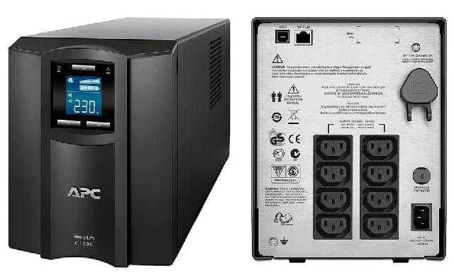 Источник БП_UPS APC Smart-1000VA (SMC1000I) Компания ForOffice 18513.000