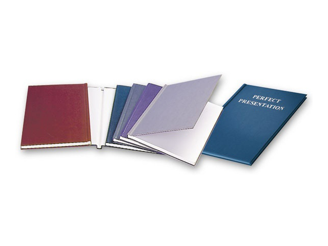 Твердая обложка   O.DIPLOMAT, картон, А4, 12 мм, белая