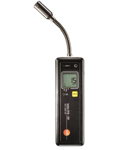 Детектор утечек газов 316-ЕХ во взрывозащищенном исполнении детектор утечки хладагентов testo 316 4