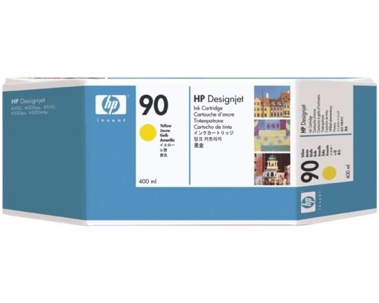 Картридж HP Inkjet Cartridge №90 Yellow (C5065A)