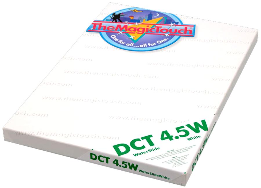 DCT 4.5W A4 (Термотрансферная бумага для твердых поверхностей) the magic touch dct 4 5c a4 термотрансферная бумага для твердых поверхностей