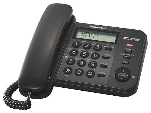 Проводной телефон_Panasonic KX-TS 2356 RUB Компания ForOffice 1012.000