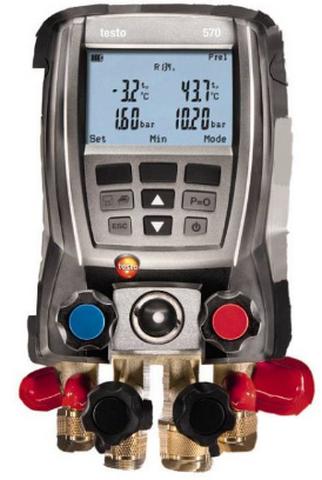 Коллектор цифровой манометрический Testo 570-1 с поверкой электронный анализатор testo 570 2