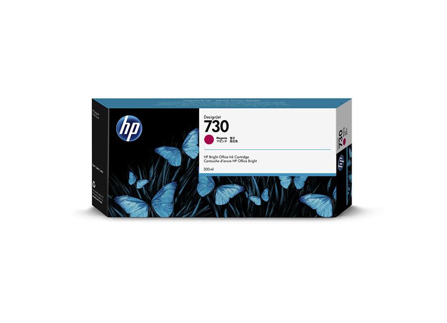 Картридж HP Designjet 730 пурпурный (Magenta) 300 мл (P2V69A) hot sales 80 printhead for hp80 print head hp for designjet 1000 1000plus 1050 1055 printer
