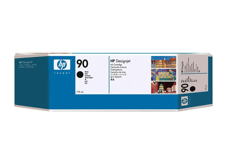 Набор картриджей HP Inkjet Cartridge 90 Black 3x775 мл (C5095A)
