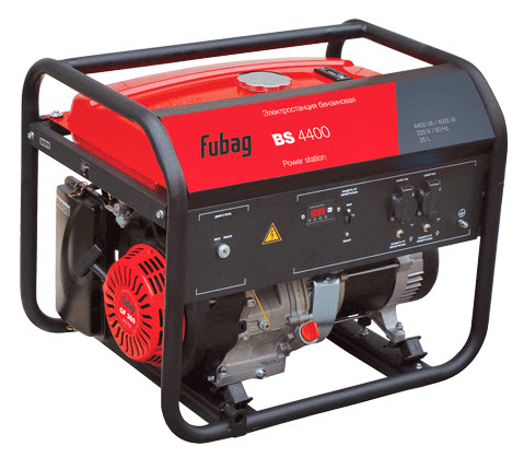 Бензиновый генератор_Fubag BS 4400