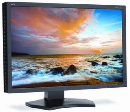 Монитор_24 NEC MultiSync P242W black (P242W-BK) Компания ForOffice 35894.000