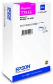 Картридж экстраповышенной емкости с пурпурными чернилами T7543 для WF-8090, 8590 (C13T754340) original cc03main mainboard main board for epson l455 l550 l551 l555 l558 wf 2520 wf 2530 printer formatter
