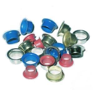 Люверсы / Колечки Piccolo (синий), 4 мм, 1 кг