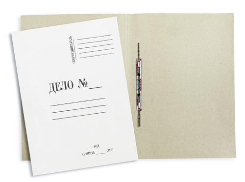 Папка-скоросшиватель «ДЕЛО» А4 260г/м2, немелованный картон Компания ForOffice 5.000