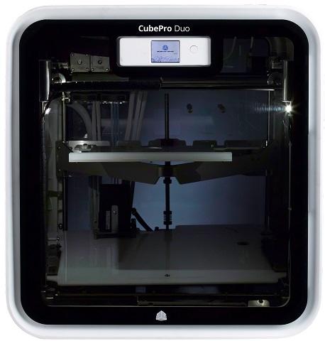CubePro Duo пластик для принтера 3d systems cubepro abs черный 401415 01