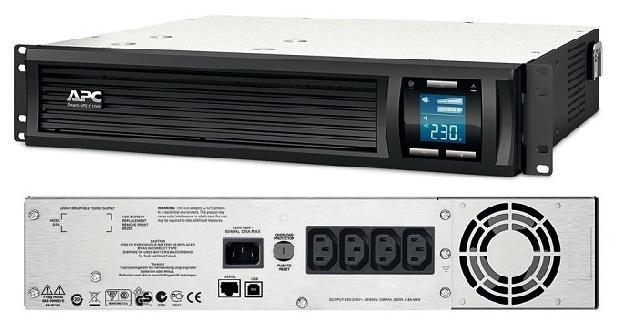 Источник БП_APC Smart-UPS C 1000VA/600W (SMC1000I-2U)