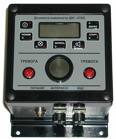 Пульт дозиметра-радиометра ПТФМ ДКГ-07БС