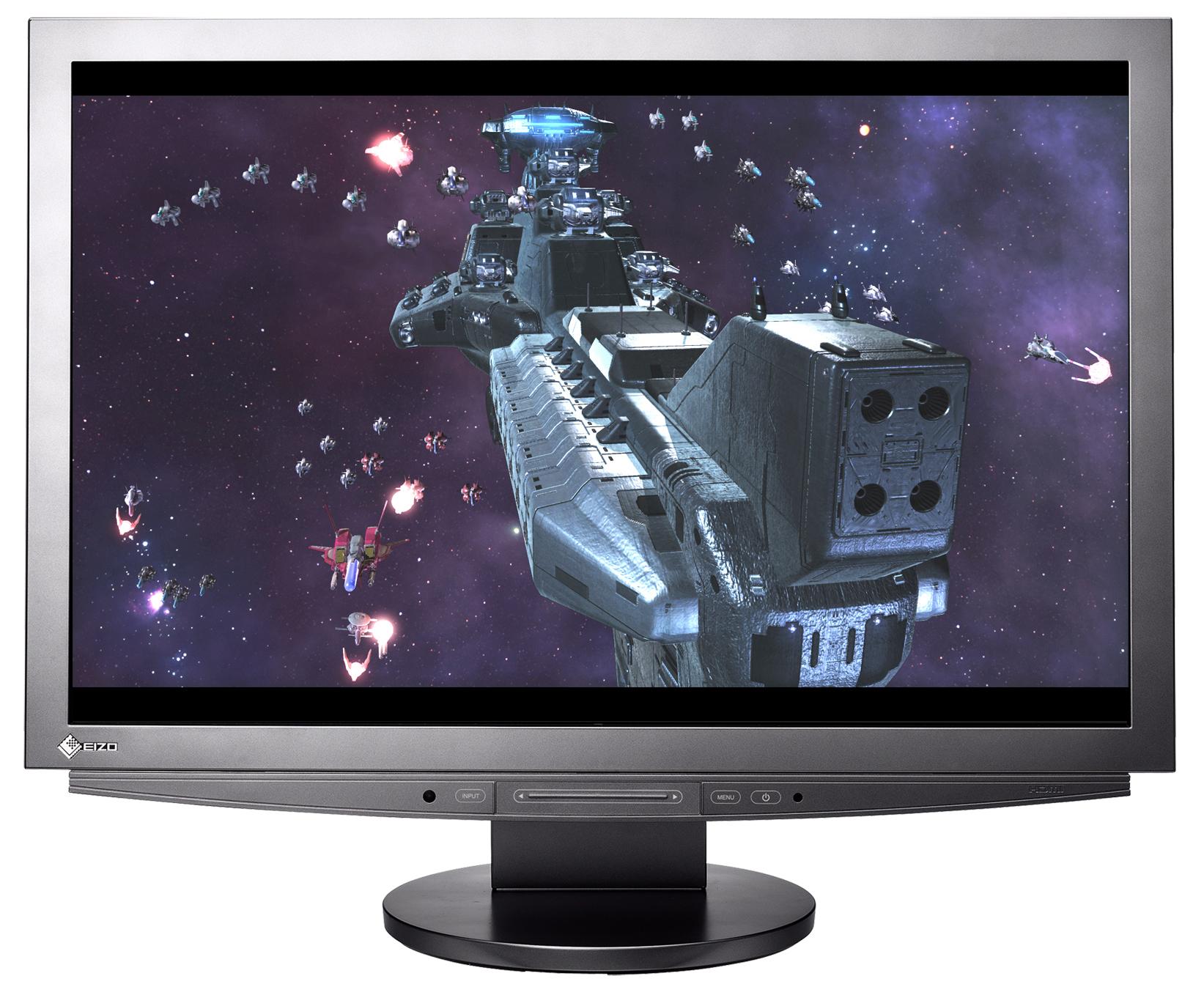 Монитор_24.1 EIZO FlexScan HD2441WT Titanium Silver