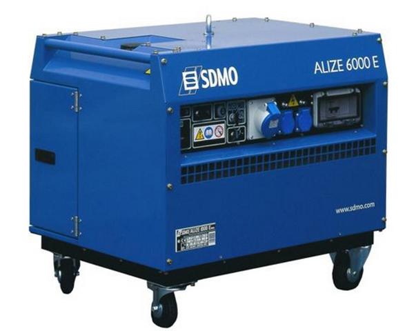 ���������� ��������� SDMO Alize 6000 E