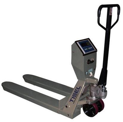 Тележка гидравлическая со встроенным весовым механизмом Tisel TW20SP
