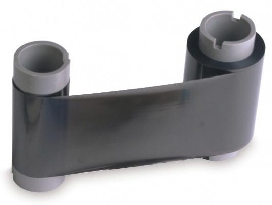 Полимерная стандартная черная лента с чистящим валиком Fargo 45202