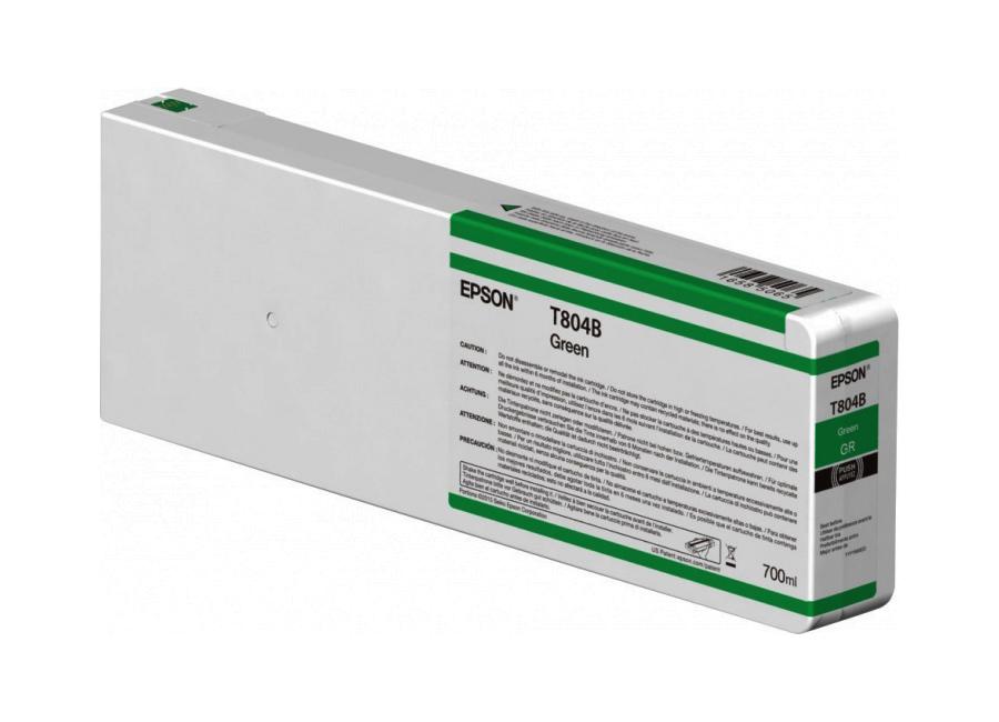 T804B Green 700 мл (C13T804B00) принтер epson surecolor sc p9000 std c11ce40301a0