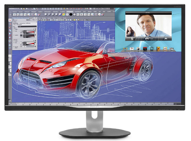 Philips 32 BDM3270QP/00 Silver-Black с поворотом экрана (32 BDM3270QP/00 Silver-Black с поворотом экрана)