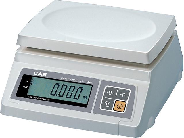 Фасовочные весы CAS SW-1/20кг