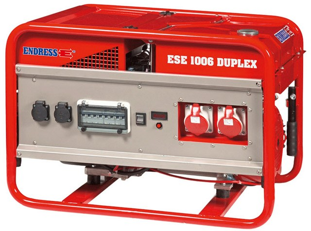 Бензиновый генератор_Endress ESE 1006 DSG-GT ES Duplex