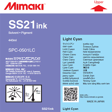 Картридж Mimaki SS21 Light Cyan
