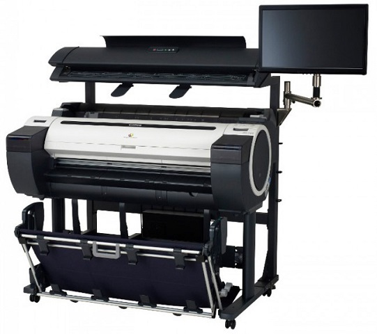 imagePROGRAF iPF770 MFP M40 Solution плоттер canon imageprograf ipf770 со стендом