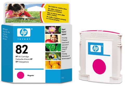 Картридж HP Inkjet Cartridge №82 Magenta (C4912A) картридж для принтера hp 128a ce323a laserjet print cartridge magenta