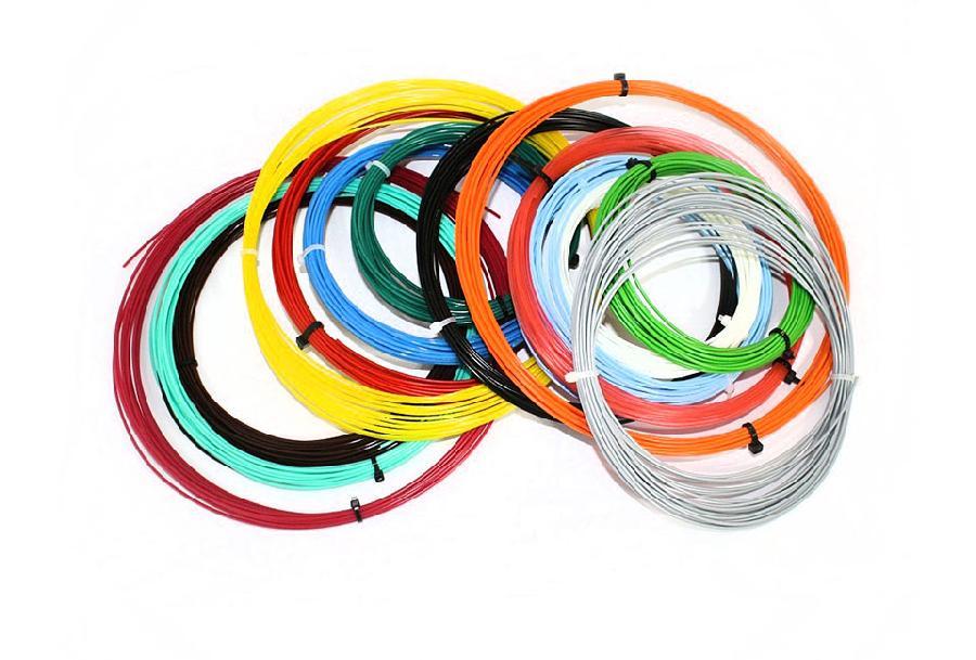 Комплект PLA-пластика 1.75 мм, 14 цветов по 9 метров jd коллекция кислотный зеленый синий флэш 42 ярдов