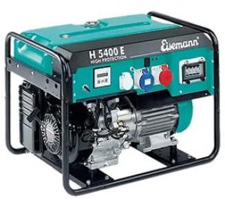 Бензиновый генератор_Eisemann H 5400 E