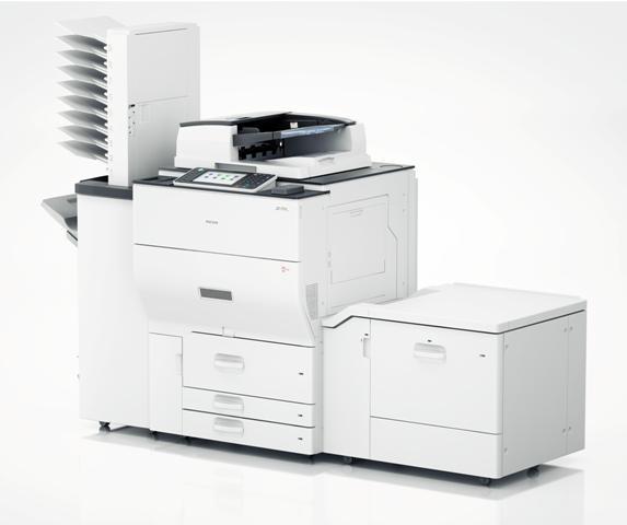 Aficio MP C6502SP цветной лазерный принтер ricoh aficio spc440dn 407774