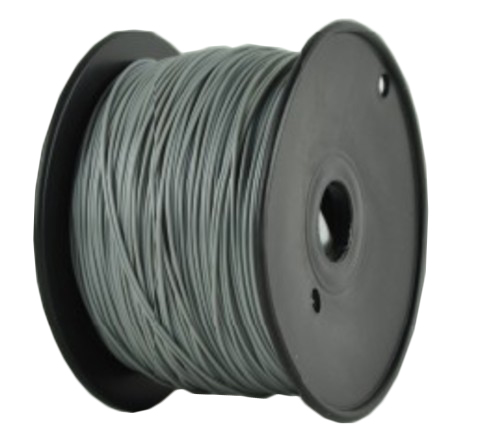 Пластик PLA серый