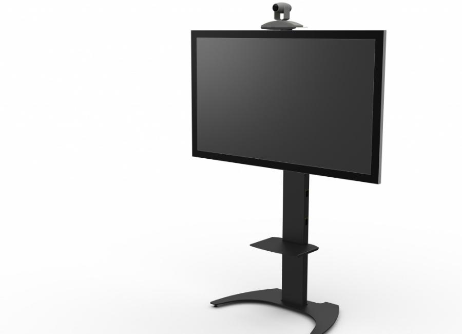 Мобильная стойка для панелей и телевизоров M50 (black) цена и фото