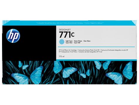 Картридж HP №771C Designjet Light Cyan (B6Y12A)
