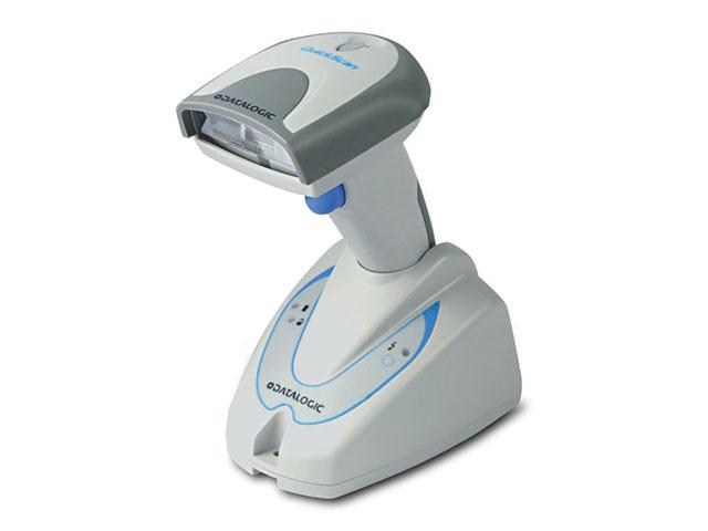 Ручной сканер штрих-кода_Datalogic QUICKSCAN M2130 с базой (белый)