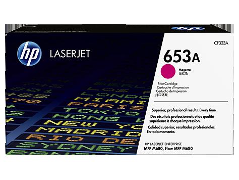 Тонер-картридж HP 653A CF323A hewlett packard hp многофункциональная лазерная аппаратура для печати копии факса сканирования