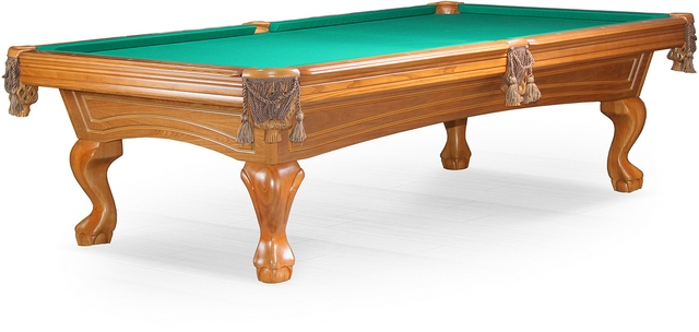Бильярдный стол_Американский пул Hilton (8 футов, ясень)