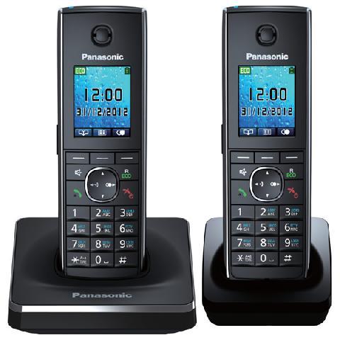 KX-TG8552RUB радиотелефон panasonic kx tg8551 черный kx tg 8551 rub