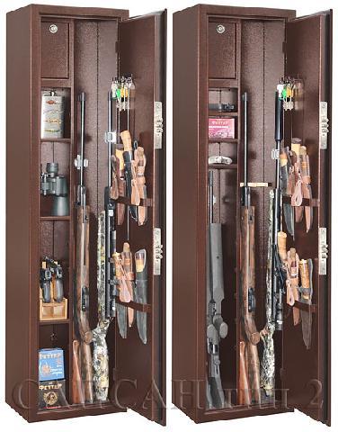 Оружейный сейф Gunsafe Сапсан тип 2