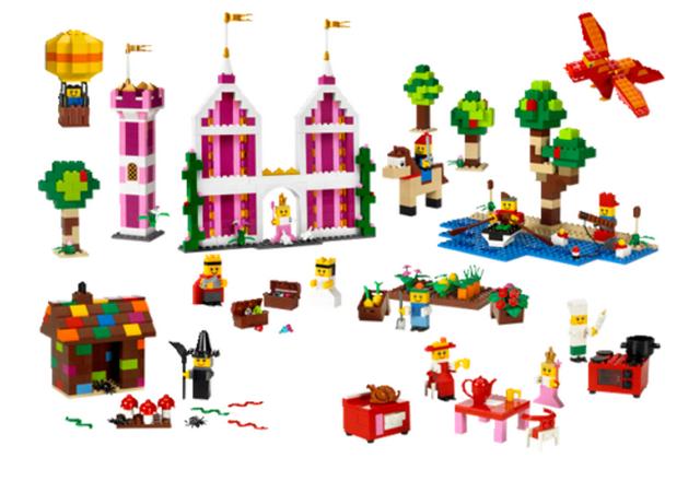 Декорации LEGO