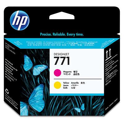 Печатающая головка HP №771 Designjet Magenta & Yellow (CE018A) печатающая головка hp 771 ce018a designjet z6200 ce018a
