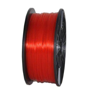 Пластик PLA прозрачно-красный
