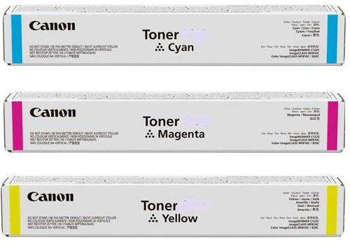 Тонер Canon C-EXV 54 Yellow (1397C002) тонер 0259b002 canon c exv17 желтый 0259b002