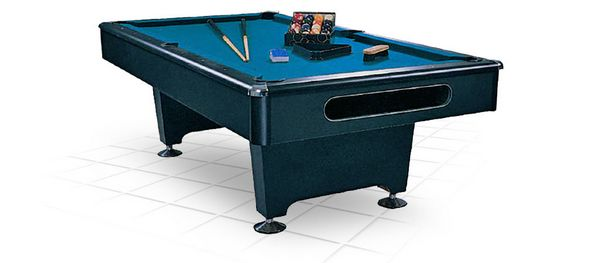 Бильярдный стол Американский пул Eliminator (8 футов, черный)