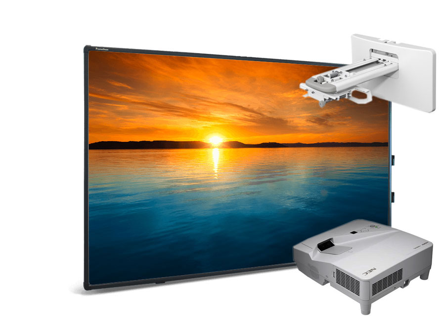 """Интерактивная доска Touch 88"""" Dry Erase 10 касаний, ПО ActivInspire в комплекте с проектором NEC UM351W и настенным креплением NEC NP04WK цены онлайн"""