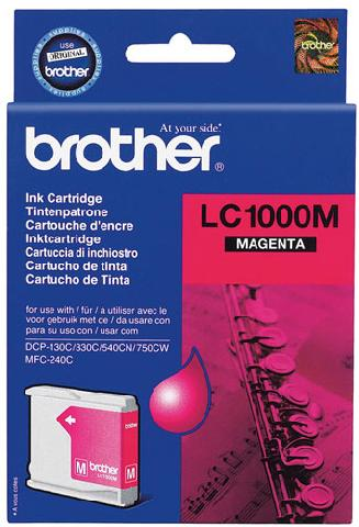 Картридж Brother LC1000M Компания ForOffice 537.000