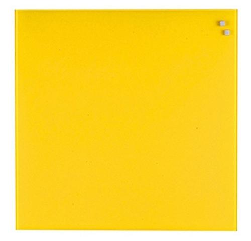 Стеклянная доска_Naga 45x45 Yellow (10740) Компания ForOffice 1988.000